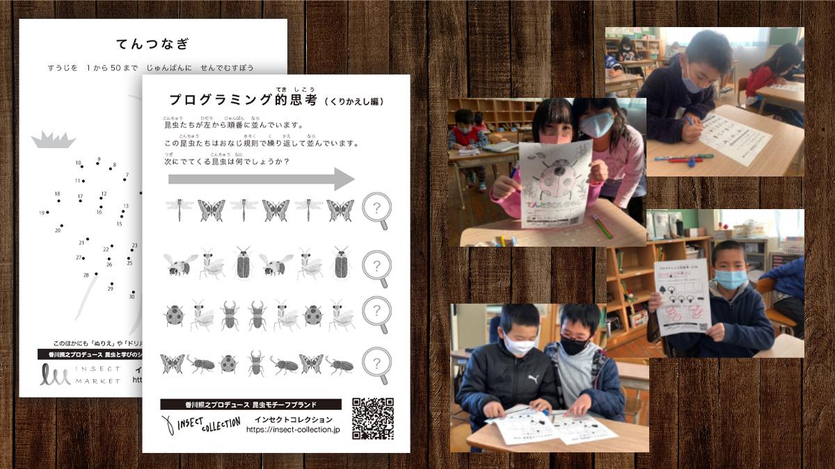 学びドリルを配布する理由と学校でのご活用事例 - INSECT MARKET| 香川 ...